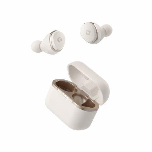 GLIDiC(グライディック) GLIDiC Sound Air TW-4000/ミルキーホワイト SB-WS41-MRTW/WH  リモートワークに最適/全5サイズから選べるイヤーピース/紛失防止機能/コンパクトデザイン