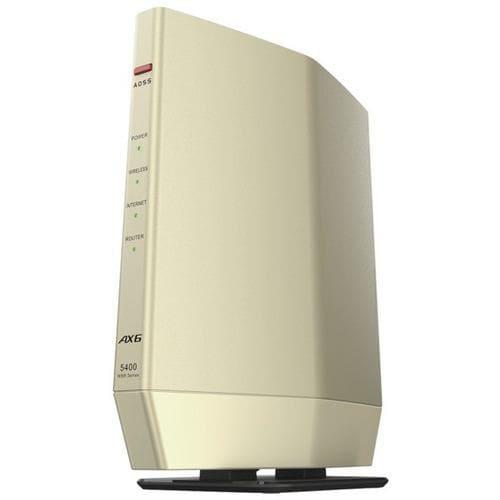 バッファロー WSR-5400AX6S-CG 無線ルーター ゴールド