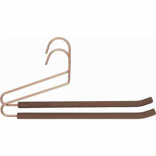 ズボン用ハンガー 2本セット ハンガー20527 ブラウン