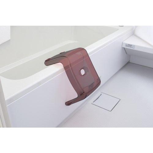 [高さ20cm] 風呂椅子 バスチェア リッチェル カラリ 腰かけ スモークブラウン