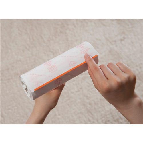 掃除 コロコロクリーナー ニトムズ HGSC強接着SカラーWhite40 C4323 白 幅20.5×奥行き7.5×高さ30.3cm
