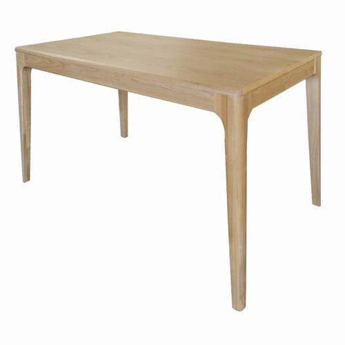 [幅130]ヤマダオリジナル ダイニングテーブル 4人掛け 幅130x奥行75x高さ75 ナチュラル