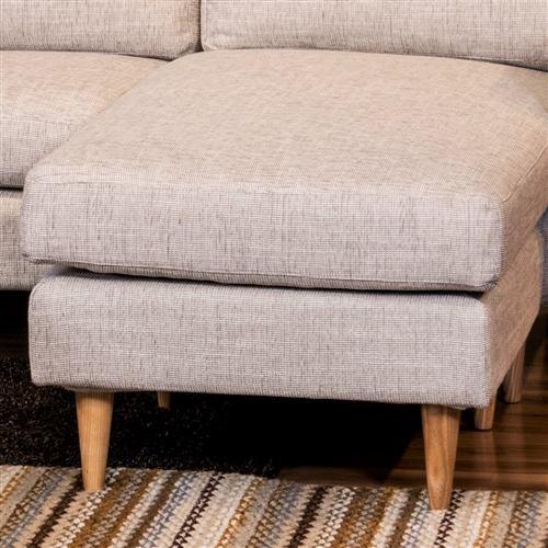 大塚家具 [3人掛]カウチソファ 組み換え可能 「CAS-D」 布リサアイボリー