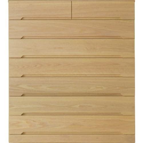 大塚家具 ハイチェスト「シナモン」幅104cm オーク材 ホワイトオーク色