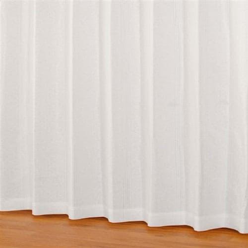 [100×198]レースカーテン エクセルレース ホワイト 2枚入 外から室内が見えにくい 防汚加工 ウォッシャブル