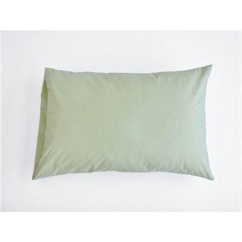 大塚家具 まくらカバー(封筒型) 「フレビープラス」 (小) 綿 抗菌防臭加工  グリーン