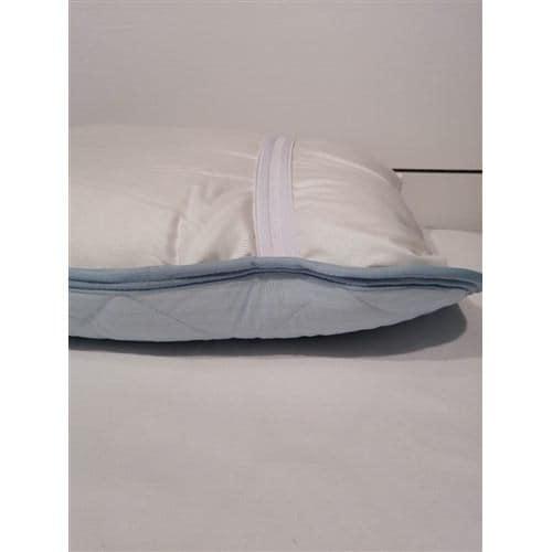 [45×60] ひんやり冷たい接触冷感 枕パッド Just cool ブルー ヤマダオリジナル