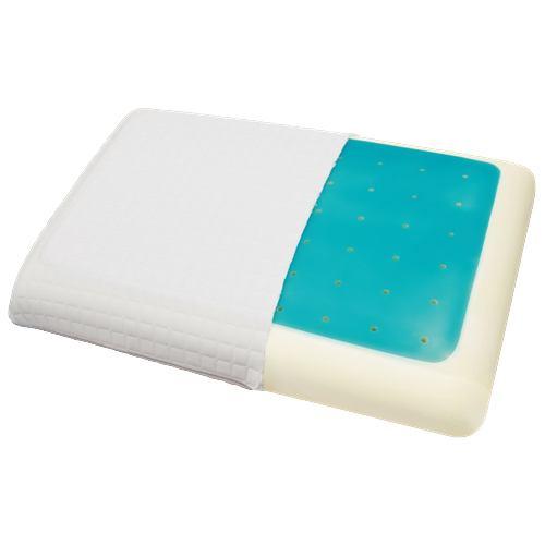 [43×63] 1年中使える 冷たい低反発ジェル枕 ホワイト ヤマダオリジナル
