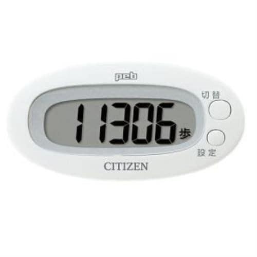 シチズン TW310-WH デジタル歩数計 peb ホワイト