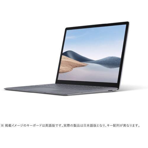 Microsoft 5EB-00050 ノートパソコン Surface Laptop 4 i7/16/512 13.5インチ プラチナ