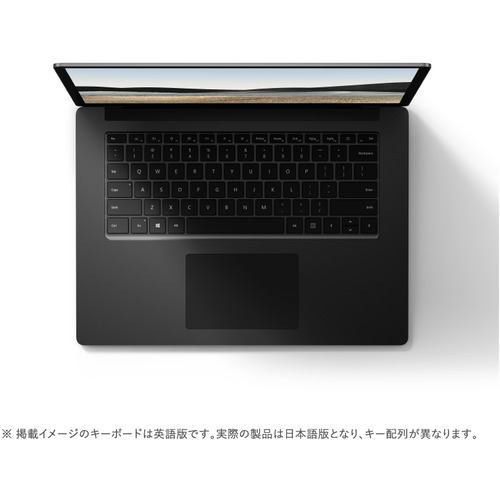 Microsoft 5W6-00043 ノートパソコン Surface Laptop 4 15 R7/8/512 15インチ ブラック