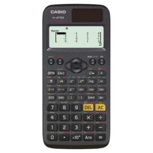 カシオ 数学自然表示関数電卓 10桁 FX-JP700-N