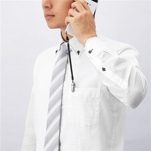 エレコム P-STCM50BK スマートフォン用 クリップストラップ/メタル ブラック 50cm