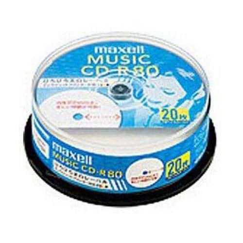 マクセル CDRA80WP20SP CD-R8020P