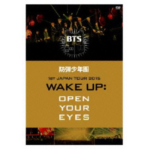 【DVD】防弾少年団 / 1st JAPAN TOUR 2015「WAKE UP:OPEN YOUR EYES」