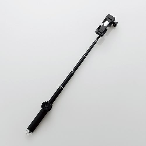 エレコム P-SSBBK Bluetoothリモコン付き自撮り棒 ブラック