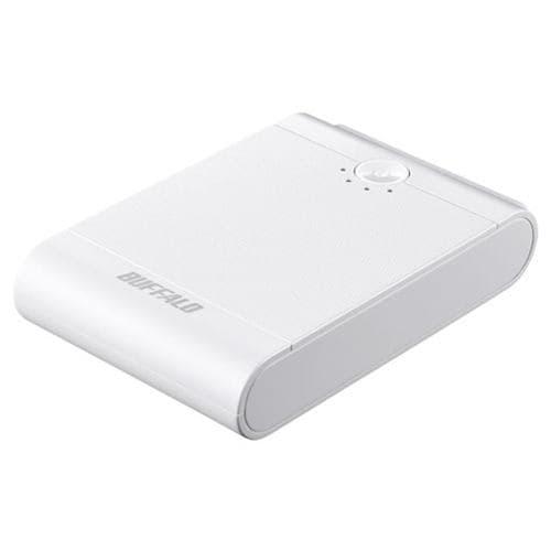 バッファロー BSMPB13410P2WH スマートフォン/タブレット用 モバイルバッテリー 13400mAh 自動判別 2ポート ホワイト