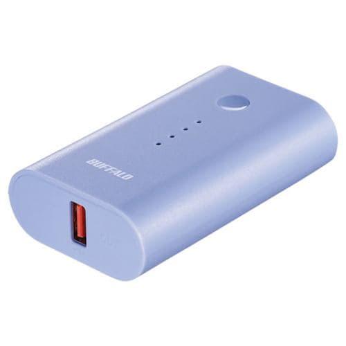 バッファロー BSMPB6720P1BL スマートフォン/タブレット用 モバイルバッテリー 6700mAh 自動判別 1ポート ブルー