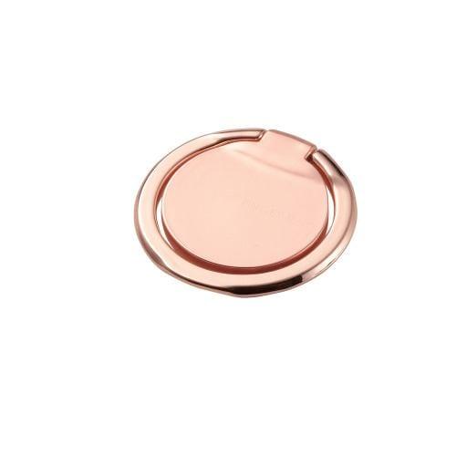 エレコム P-STRSLPN フィンガーリング(薄型) ピンク