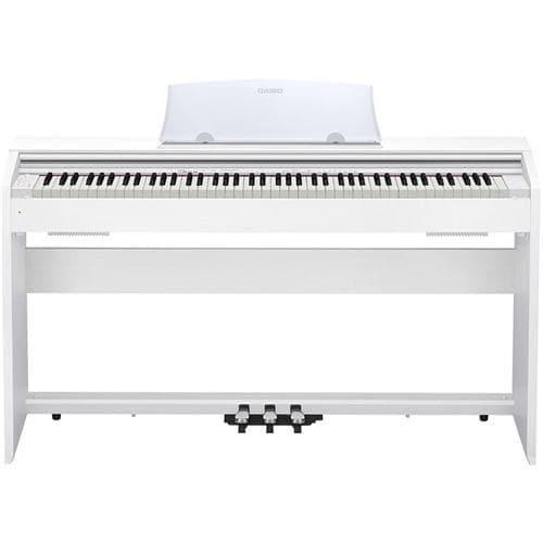 電子ピアノ カシオ 88鍵盤 PX-770WE 電子ピアノ 「Privia(プリヴィア)」 ホワイトウッド調
