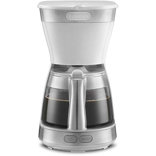 デロンギ ICM12011J-W アクティブ ドリップコーヒーメーカー トゥルーホワイト
