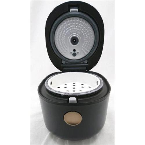 YAMADASELECT(ヤマダセレクト) NRCM05H1 ヤマダオリジナル3合炊きマイコンジャー炊飯器 SERIE NOIR 0.54L ブラック