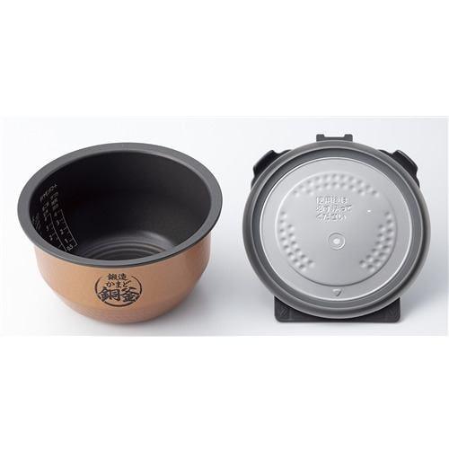 東芝 RC-10VRR-K 真空IH炊飯器 炎 匠炊き 5.5合炊き グランブラック