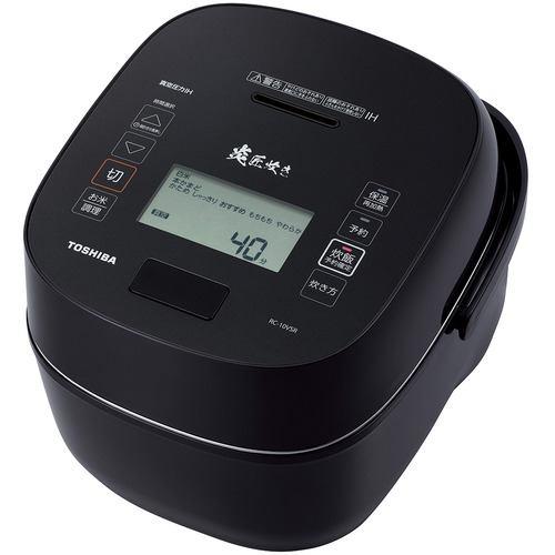 東芝 RC-10VSR-K 真空圧力IH炊飯器 炎 匠炊き 5.5合炊き グランブラック