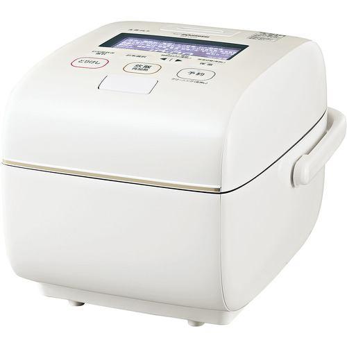 象印マホービン NW-LB10-WZ 圧力IH炊飯ジャー 炎舞炊き 5.5合炊き 絹白