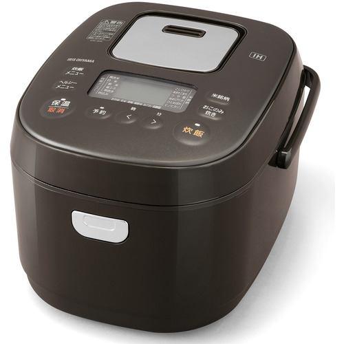アイリスオーヤマ KRC-IK50-T IHジャー炊飯器 5.5合   ブラウン
