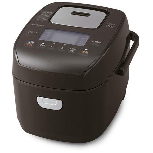 アイリスオーヤマ KRC-PD30-T 米屋の旨み 銘柄炊き圧力IHジャー炊飯器 3合 ブラウン