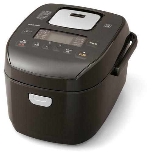 アイリスオーヤマ KRC-PD50-T 米屋の旨み 銘柄炊き圧力IHジャー炊飯器 5.5合 ブラウン