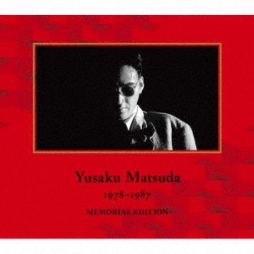【CD】松田優作 / YUSAKU MATSUDA 1978-1987 MEMORIAL EDITION(初回限定盤)(DVD付)