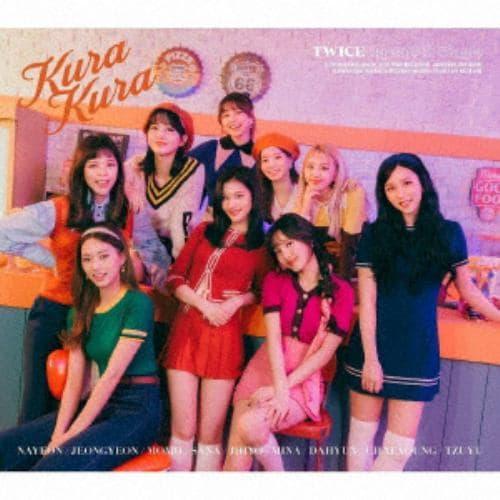 【CD】TWICE / Kura Kura(初回限定盤A)(DVD付)