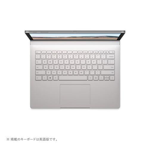 Microsoft SKW-00018 ノートパソコン Surface Book 3 I7 16GB 256GB プラチナ 13.5インチ