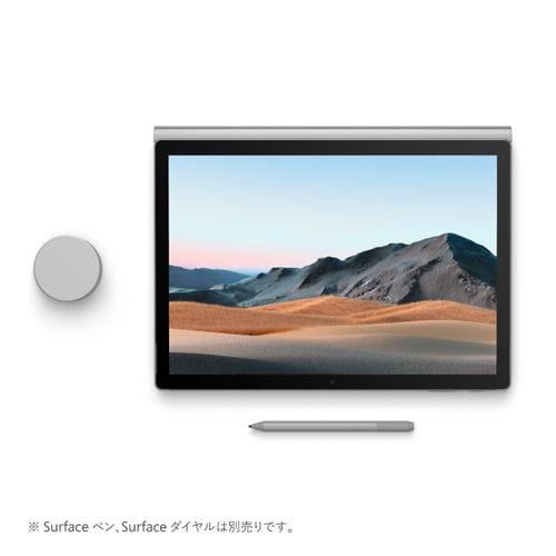 Microsoft SLK-00018 ノートパソコン Surface Book 3 I7 32GB 512GB プラチナ 13.5インチ
