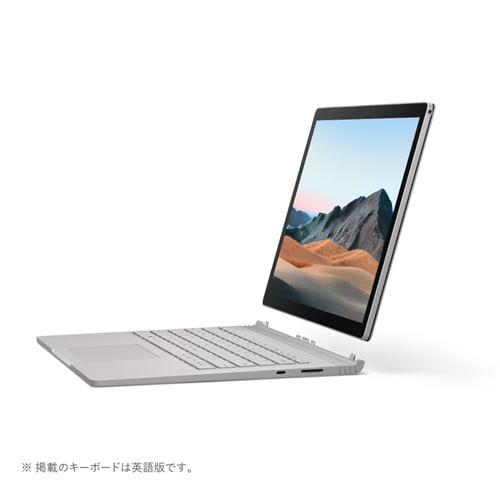 Microsoft SLS-00018 ノートパソコン Surface Book 3 i7 32GB 1TB dGPU プラチナ 13.5インチ