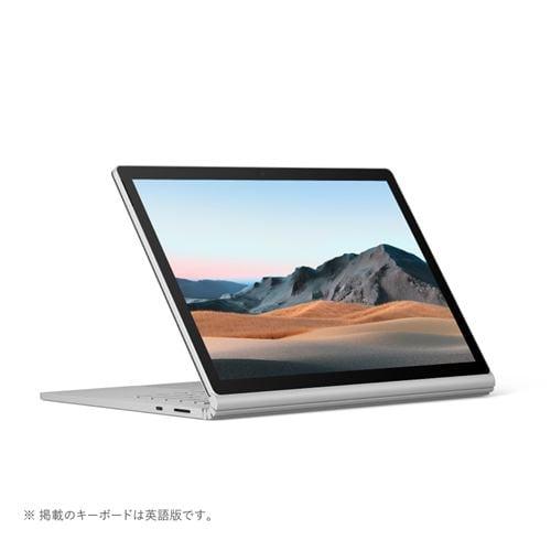 Microsoft SLZ-00018 ノートパソコン Surface Book 3 i7 16GB 256GB dGPU プラチナ 15インチ