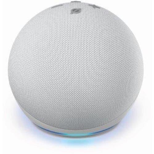 Amazon(アマゾン) B084KQRCGW Echo Dot (エコードット) 第4世代 - スマートスピーカー with Alexa グレーシャーホワイト