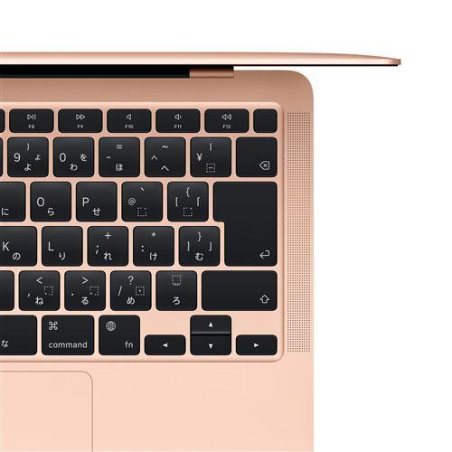 アップル(Apple) MGNE3J/A MacBook Air 13.3インチ ゴールド Apple M1チップ(8コアCPU/8コアGPU) SSD512GB メモリ8GB