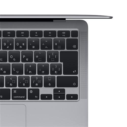 アップル(Apple) MGN73J/A MacBook Air 13.3インチ スペースグレイ Apple M1チップ(8コアCPU/8コアGPU) SSD512GB メモリ8GB