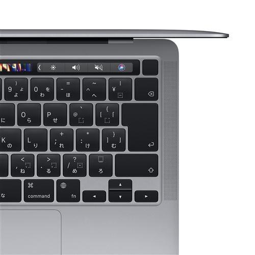 アップル(Apple) MBP130003 MacBookPro 13.3インチ Touch Bar搭載 スペースグレイ Apple M1チップ(8コアCPU/8コアGPU) SSD512GB メモリ16GB CTOMBP130003 CTOモデル