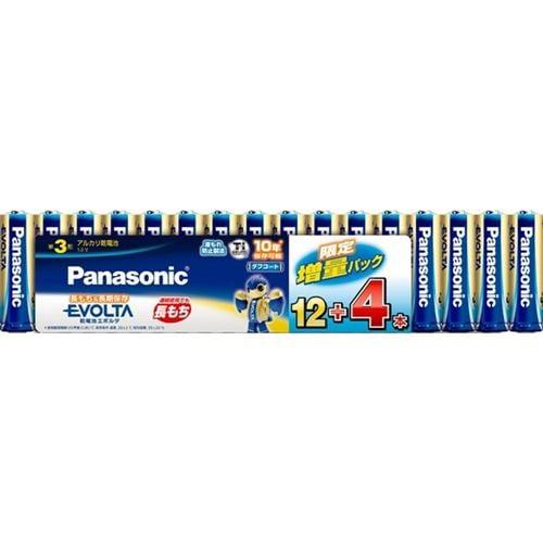 パナソニック LR6EJSP/ 16S アルカリ乾電池単3形 16本パック  EVOLTA