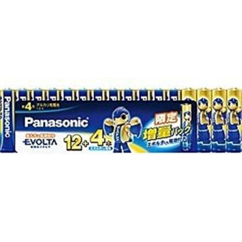 パナソニック LR03EJSP/ 16S アルカリ乾電池単4形 16本パック  EVOLTA