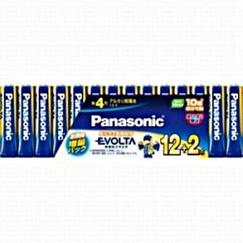 パナソニック LR03EJSP/14S アルカリ乾電池 「エボルタ」 単4形 14本パック