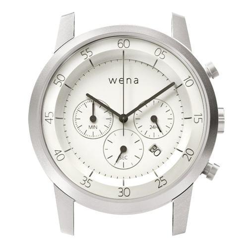 ソニー WN-WC01W-H wena wrist(ウェナ リスト)用ヘッド 「Chronograph White Head」 スタンダードモデル