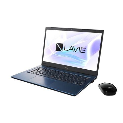 【台数限定】ノートパソコン NEC PC-HM350PAL LAVIE Home Mobile ネイビーブルー ノートPC