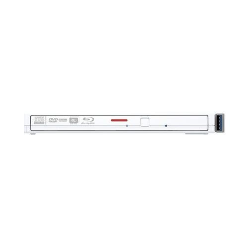 バッファロー BRXL-PT6U3-WHD BDXL対応 USB3.1(Gen1)/USB3.0用 ポータブルブルーレイドライブ スリムタイプ ホワイト