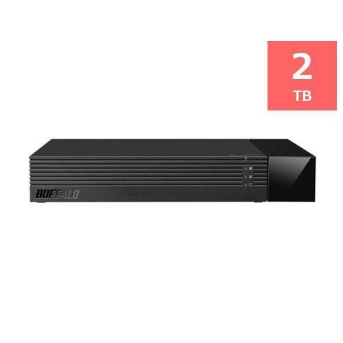 バッファロー HDV-SAM2.0U3-BKA USB3.1(Gen1)/USB3.0対応外付けHDD 2TB ブラック