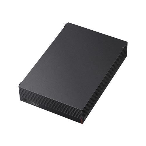 外付けハードディスク バッファロー 4TB BUFFALO HD-EDS4U3-BC 3.5インチHDD 4TB